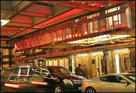 Savoy Theatre - Dreamgirls