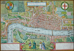 Braun Hogenburg old London
