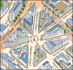 covent garden map